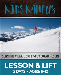 Kids Kampus - Two Full Days Lesson & Lift  (Ages: 6-12)