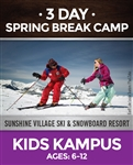 Spring Break 3-Day Camp - Kids Kampus (Ages: 6-12)