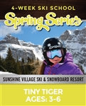Tiny Tigers Spring Series (Ages: 3-6)