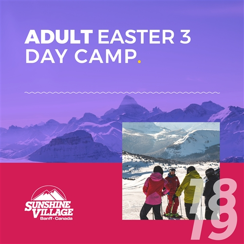 Easter 3-Day Camp - Adults