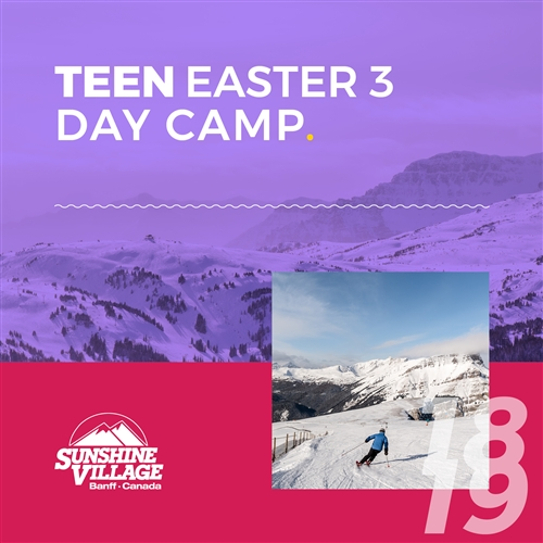 Easter 3-Day Camp - Teens