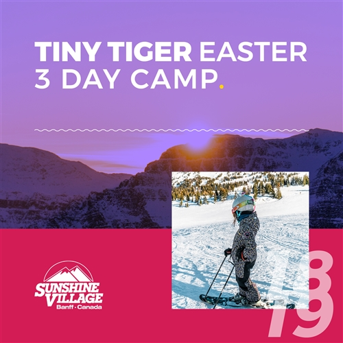 Easter 3-Day Camp - Tiny Tigers (3-6)