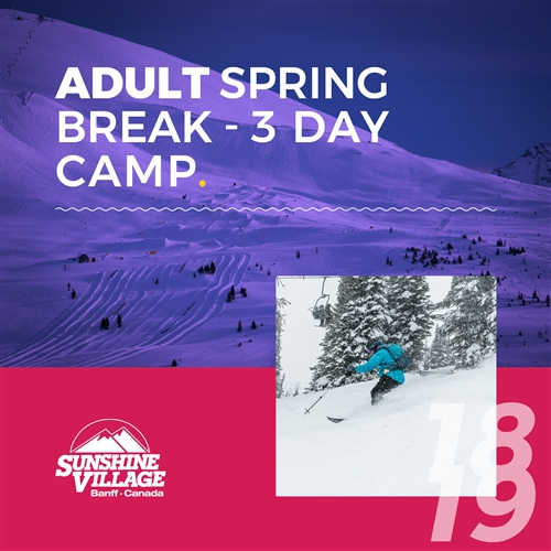 Spring Break - 3-Day Camp - Adults