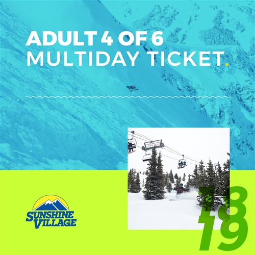 Banff Sunshine Multiday Lift Ticket