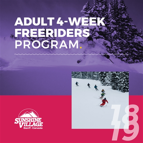 Men's Freeriders 4 Weeks (Ages: 18+)