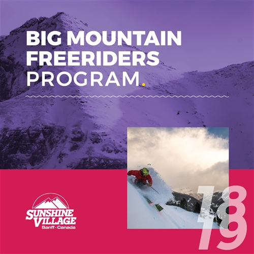 Big Mountain Freeriders (Ages: 13-17)
