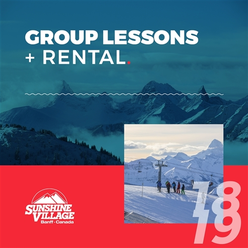2018-19 Group Lessons + Rental