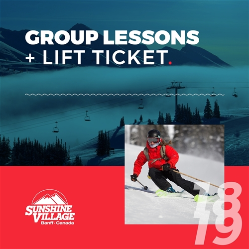 2018-19 Group Lesson + Lift Ticket