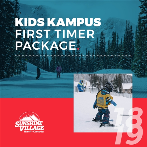2018-19 Kids Kampus First Timer Package