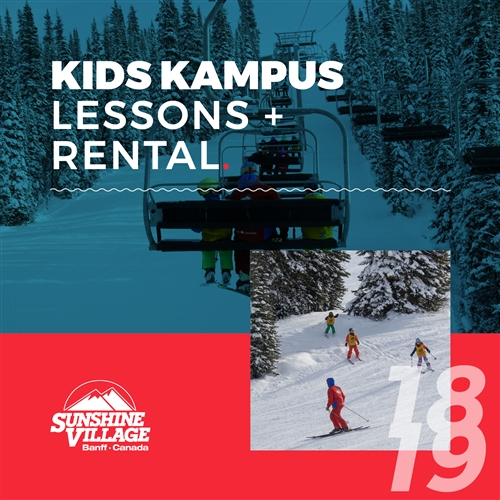 2018-19 Kids Kampus Lessons + Rental