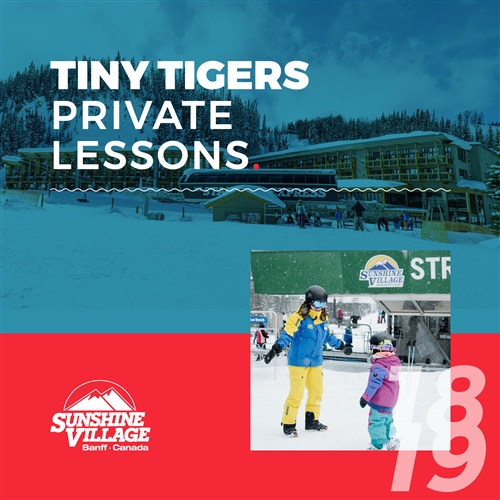2018-19 Private Lessons Tiny Tigers