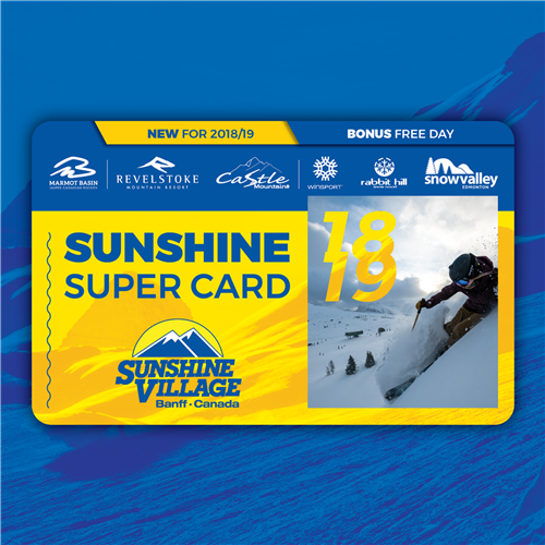 2018-19 Sunshine Super Card