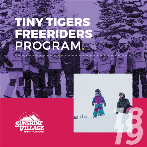Early Bird Tiny Tigers Freeriders (Age: 3-6)