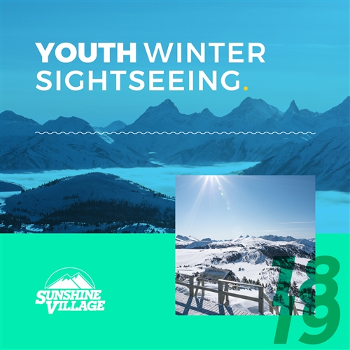 2018-19 Winter Sightseeing - Youth (13-17)