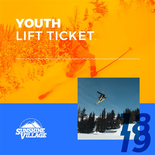 Banff Sunshine Village Youth Lift Ticket