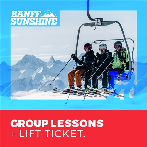 2019-20 Group Lesson + Lift Ticket