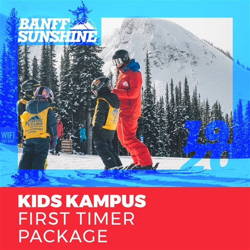 2019-20 Kids Kampus First Timer Package