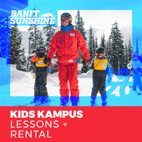 2019-20 Kids Kampus Lessons + Rental