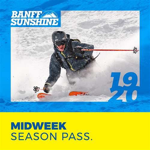 Midweek Season Pass (Mon - Thurs) (Ages: 18+)