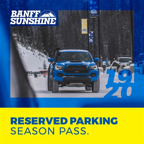 Reserved Parking Season Pass