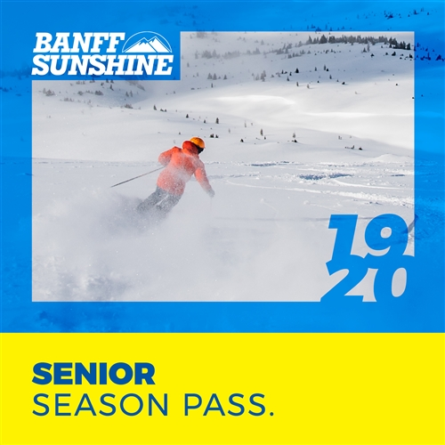 Senior Season Pass (Ages: 65 -79)