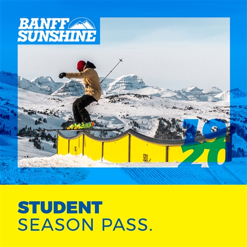 Student Season Pass (Ages: 18-29)