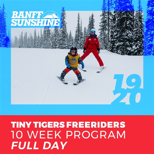 Tiny Tigers Freeriders 10 Week - Full Day