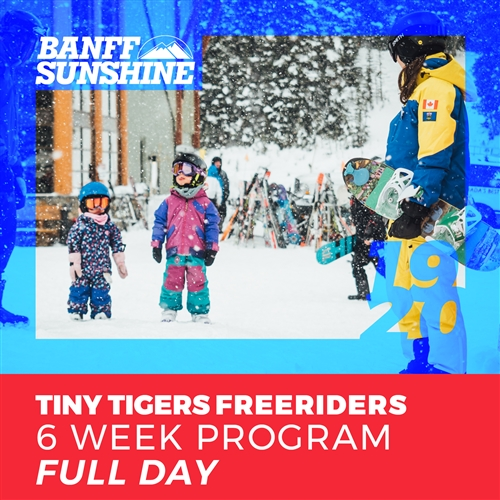 Tiny Tigers Freeriders 6 Week - Full Day