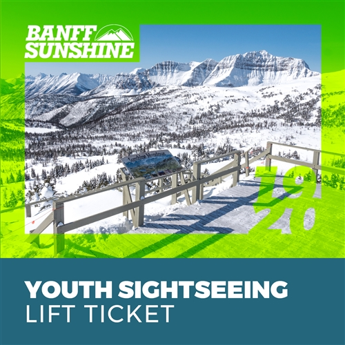 Winter Sightseeing Ticket: Youth (13-17)