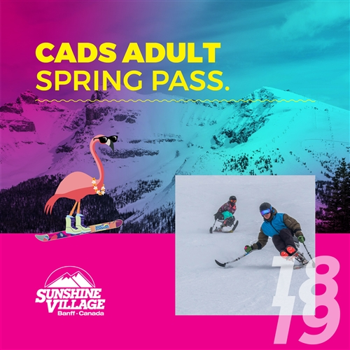 CADS Adult Spring Pass