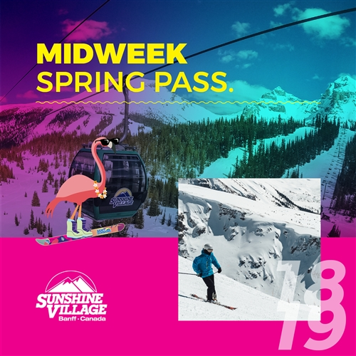 Midweek Spring Pass (Mon - Thurs)