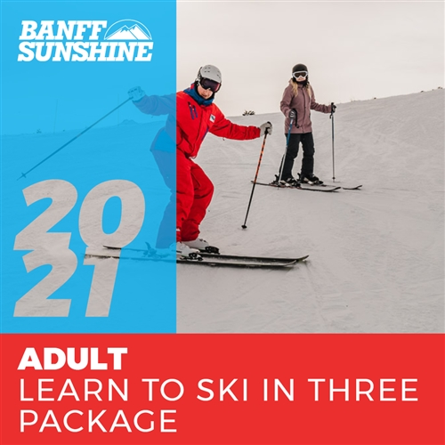 2020-21 Adult Learn to Ski in 3