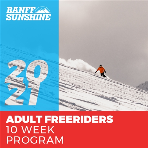 Adult Freeriders 10 Weeks (Ages: 18+)