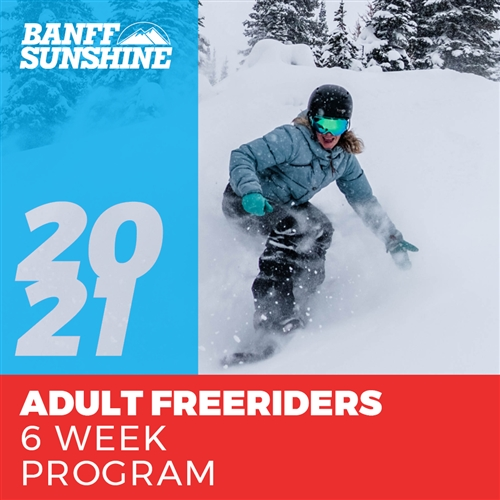 Adult Freeriders 6 Weeks (Ages: 18+)