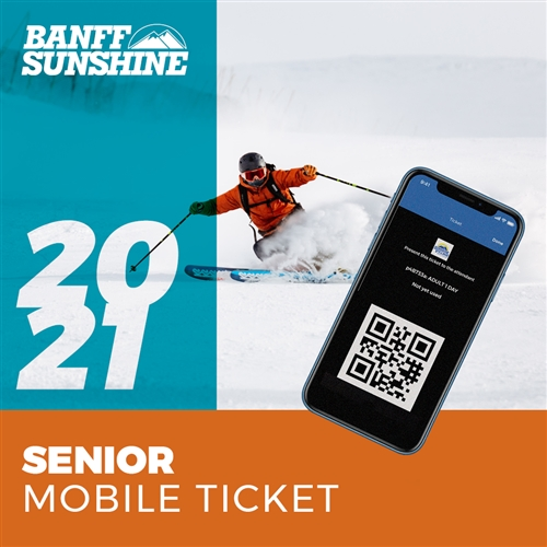Sunshine Village Senior Mobile Lift Ticket Banff