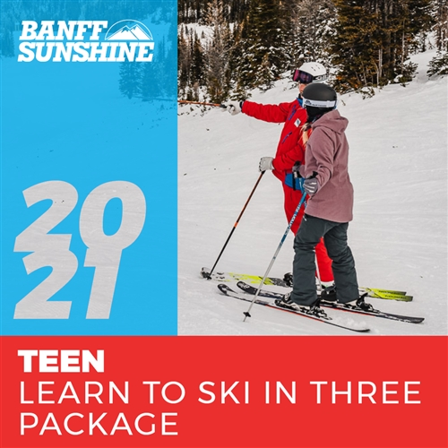 2020-21 Teen Learn to Ski in 3