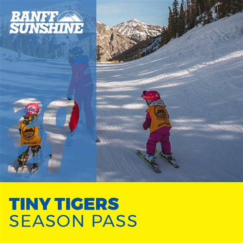 Tiny Tiger Season Pass (Ages: 5 and under)