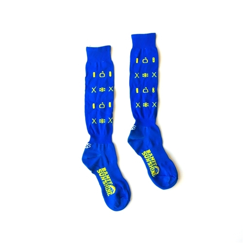 Sunshine Village Socks - Blue