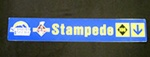 Stampede Trail Sign