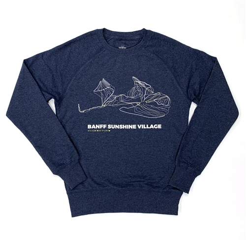 Unisex Trail Map Sweater